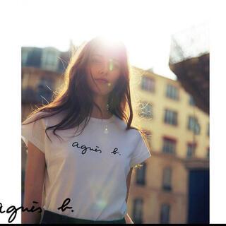 【ラスト1点】agnes b. アニエスベー Tシャツ白ホワイトXLサイズ(Tシャツ(半袖/袖なし))