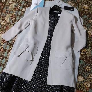 ルネ(René)のReneルネ♡2019 極美品 リボンポケット ロングカーディガン34♡FOXE(カーディガン)