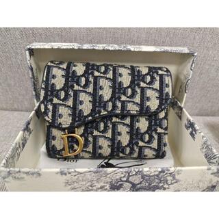 ディオール(Dior)のDior クリスチャンディオール saddle 折り財布(財布)