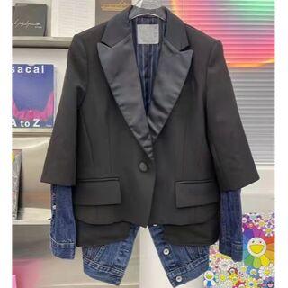 サカイ(sacai)のSacai サカイ テーラードジャケット デニムジャケット サイズ M(Gジャン/デニムジャケット)