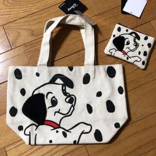 Disney - 101匹わんちゃん トートバッグ &パスケース  2点セット ディズニー