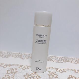ディオール(Dior)の1585/ ディオール スノーピュア ホワイトニング アクア ローション(化粧水/ローション)