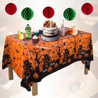 ハロウィン 仮想用品 テーブルクロス おしゃれ パーティー 食卓 ビニール製