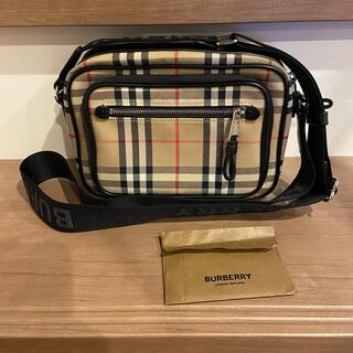 BURBERRY - 極美品 バーバリー チェック ショルダー バッグ 8010152 正規品