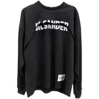 Jil Sander - Jil Sander ジルサンダー スウェット 重ね着風 ファッション サイズS