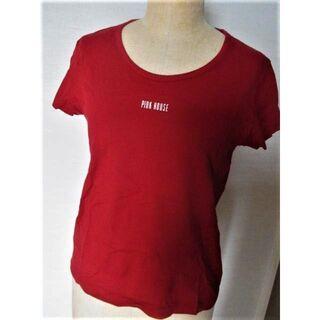 ピンクハウス(PINK HOUSE)の◆ピンクハウス 赤半袖Tシャツ◆PINK HOUSE(Tシャツ(半袖/袖なし))
