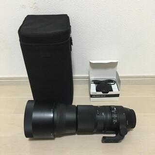 シグマ(SIGMA)のSIGMA  150-600mm キャノン用 USBドックUD-01付き(レンズ(ズーム))