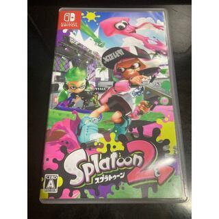 Nintendo Switch - ★中古★スプラトゥーン2 Splatoon2 NintendoSwitch