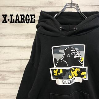 XLARGE - 【超人気】エクストララージ☆ビックロゴ ゴリラ 定番デザイン パーカー