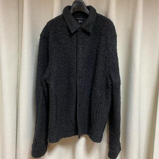 エイチアンドエム(H&M)のH&M ウール シャツジャケット シャケット グレー(その他)
