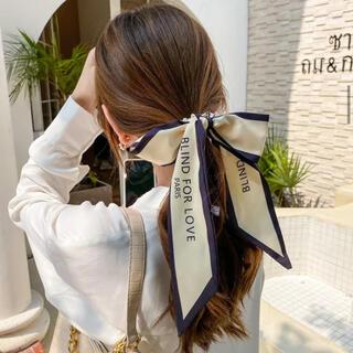 evelyn - スカーフ付きヘアアクセ