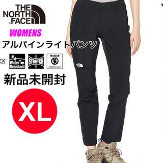 ザノースフェイス(THE NORTH FACE)のノースフェイス アルパインライトパンツ  レディース ブラック XL 新品(その他)