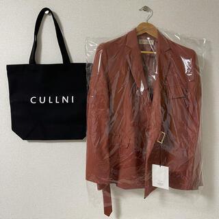 サンシー(SUNSEA)の【新品未使用タグ付き】CULLNI(クルニ)タイロッケンジャケット&トートバッグ(テーラードジャケット)