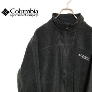 コロンビア(Columbia)の●Columbia TITANIUM● アメリカ古着 刺繍 フリースジャケット(ブルゾン)