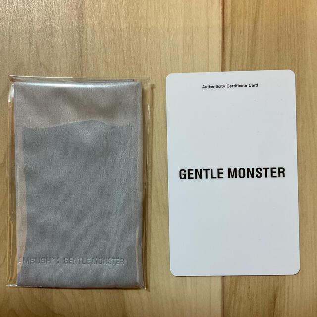 AMBUSH(アンブッシュ)のGENTLE MONSTER AMBUSH 登坂広臣着用 メンズのファッション小物(サングラス/メガネ)の商品写真