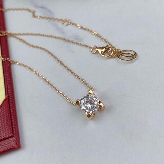 Cartier - カルティエ C ドゥネックレス ピンクゴールド