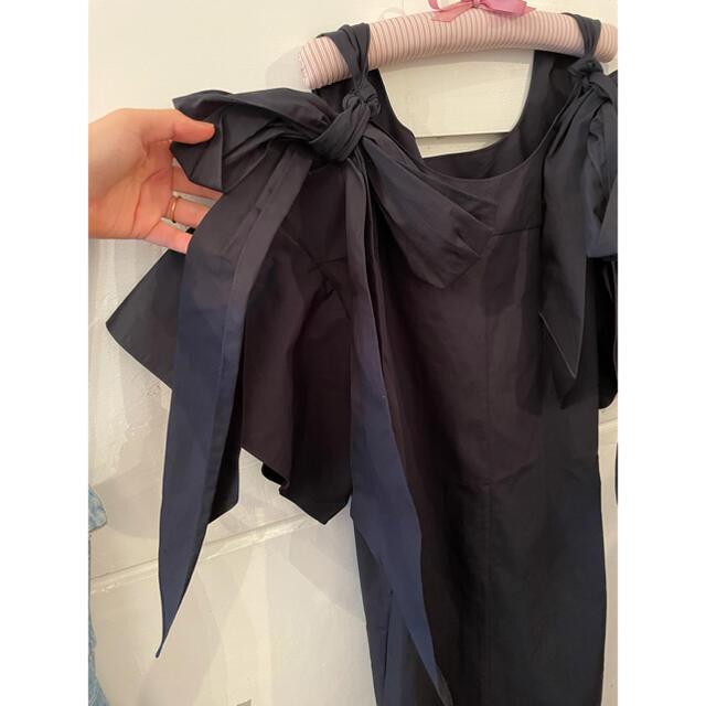Chloe(クロエ)の最終お値下げ🖤Chloé ribbon onepiece. レディースのワンピース(ひざ丈ワンピース)の商品写真