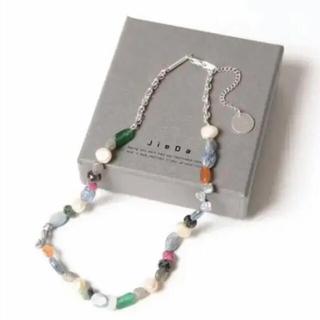 ジエダ(Jieda)のjieda mix stone necklace ジエダ ネックレス(ネックレス)