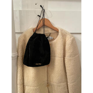 ミュウミュウ(miumiu)のmiumiu velvet bag.(ポーチ)
