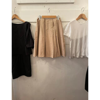 agnes b. - MARNI skirt & agnes b. ribbon cardigan.