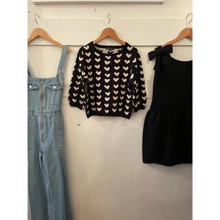 アニエスベー(agnes b.)のTo b by agnes b. heart knit.(ニット/セーター)