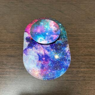 【中古】PopSockets MagSafe Blue Nebula (その他)