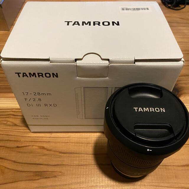 TAMRON(タムロン)のtamron 17-28 f2.8  スマホ/家電/カメラのカメラ(レンズ(ズーム))の商品写真