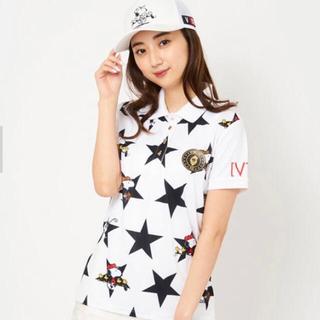 スヌーピー(SNOOPY)の超美品☆V12×SNOOPYコラボポロシャツ(ウエア)