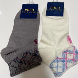 ポロラルフローレン(POLO RALPH LAUREN)のポロ ラルフローレン 靴下 ショートソックス ブランドソックス レディース 婦人(ソックス)