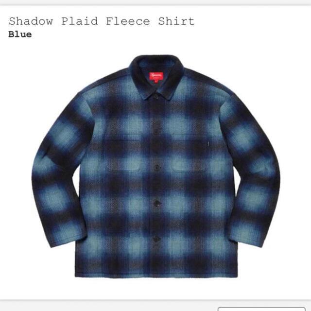 Supreme(シュプリーム)のSupreme Shadow Plaid Fleece Shirt XL メンズのトップス(シャツ)の商品写真