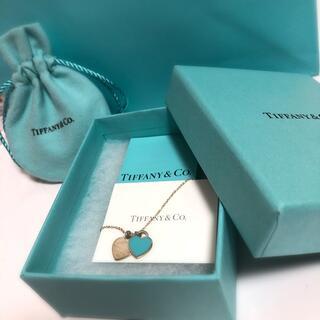 Tiffany & Co. - ティファニー  ダブルハートネックレス
