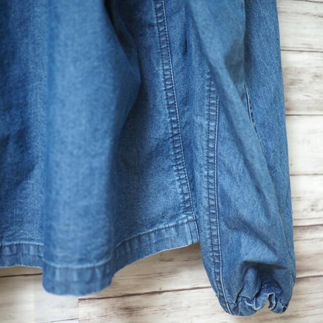 THE NORTH FACE(ザノースフェイス)のTNF Purple Label インディゴシャンブレー マウンテンパーカ メンズのジャケット/アウター(マウンテンパーカー)の商品写真