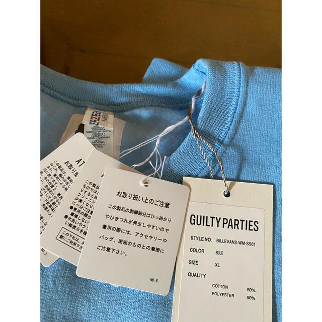 WACKO MARIA(ワコマリア)のWACKO MARIA BILL EVANS スウェット ブルー XL  メンズのトップス(スウェット)の商品写真