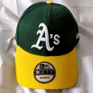 NEW ERA - New Era Oakland Athletics アスレチックス キャップ緑