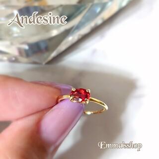 天然石AAAチベット産アンデシンのフリーサイズリングsilver925ゴールド
