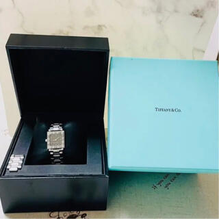 Tiffany & Co. - 美品 TIFFANY&Co. ティファニー アトラス スクエア クォーツ