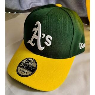 NEW ERA - Oakland Athletics アスレチックス キャップ緑 New Era