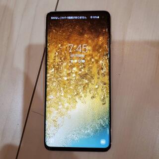 Galaxy - 新品同様 Galaxy S10 ドコモ版 SC-03L SIMフリー ケース付き