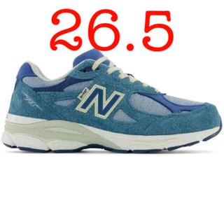 ニューバランス(New Balance)の26.5 LEVI'S NEW BALANCE M990LI3 blue (スニーカー)