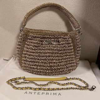 アンテプリマ(ANTEPRIMA)のアンテプリマ 2wayバッグ ハンド ショルダーバッグ ベージュ 保存袋(ショルダーバッグ)