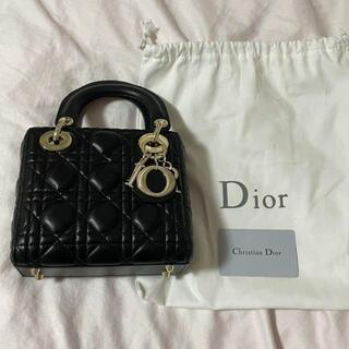 Christian Dior - クリスチャンディオール バッグ dior 黒