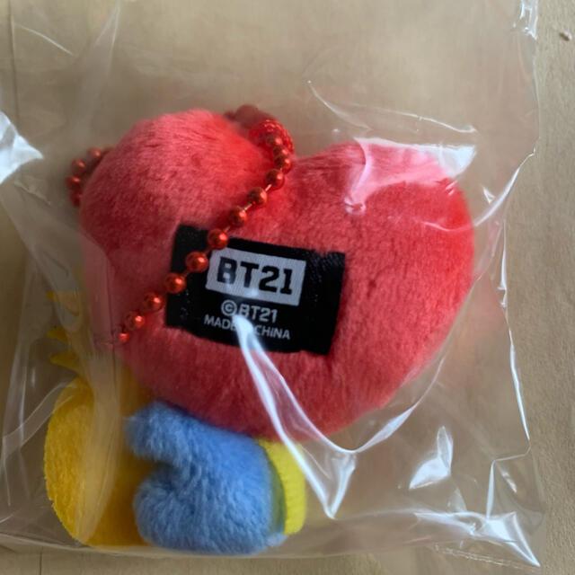 防弾少年団(BTS)(ボウダンショウネンダン)のBT21  ぬいぐるみキーホルダー TATA エンタメ/ホビーのおもちゃ/ぬいぐるみ(キャラクターグッズ)の商品写真