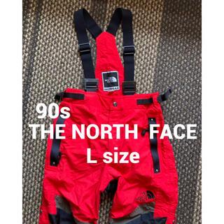 THE NORTH FACE - 【90s】THE NORTH FACE✨ビブパンツ L つなぎ