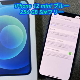 iPhone - 最終値下げ中!!iPhone12miniブルー256GB simフリー