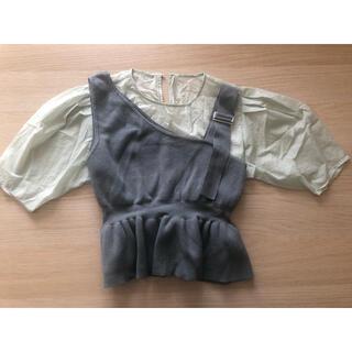 ムルーア(MURUA)のMURUAのレイヤードトップス(カットソー(半袖/袖なし))