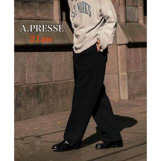 コモリ(COMOLI)のアプレッセ APRESSE 21aw ベイカーパンツ M43 HBT Pants(ワークパンツ/カーゴパンツ)