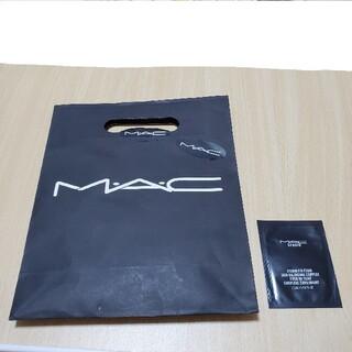 マック(MAC)のMAC ファンデーション お試し 紙袋(ファンデーション)
