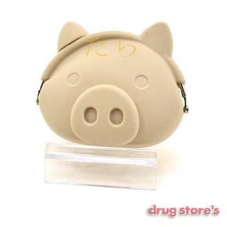 ドラッグストアーズ(drug store's)のdrug store's ブタ顔 シリコン ガマ口 ポーチ コインケース (コインケース)
