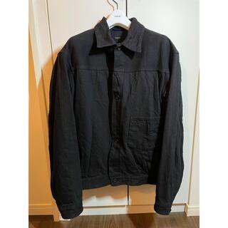 コモリ(COMOLI)のcomoli デニムジャケット ブラック 1(Gジャン/デニムジャケット)