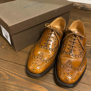 チャーチ(Church's)の美品 チャーチ バーウッド メンズ ビジネス 革靴 ウイングチップ(ドレス/ビジネス)
